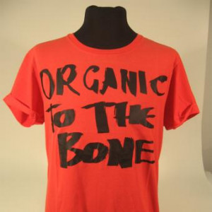 Kuyichi T-Shirt TIGER M | orange